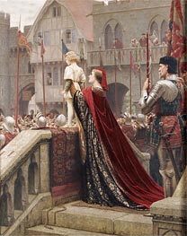 Blair Leighton | A Little Prince Likely in Time to Bless a Royal Throne, 1904 | Giclée Canvas Print