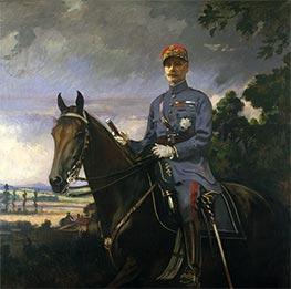 Marshal Ferdinand Foch, 1920 by Edmund Charles Tarbell | Giclée Canvas Print