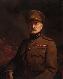 General Georges Leman, Commander of the Fortified Town of Liege, c.1919/20 by Edmund Charles Tarbell | Giclée Canvas Print