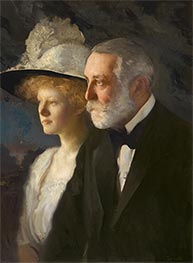 Henry Clay and Helen Frick, c.1910 by Edmund Charles Tarbell | Giclée Canvas Print
