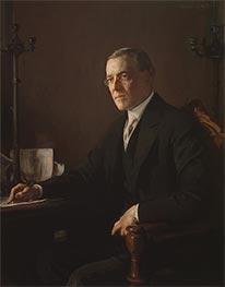 Woodrow Wilson, c.1920/21 by Edmund Charles Tarbell | Giclée Canvas Print