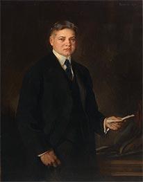 Herbert Hoover, 1921 by Edmund Charles Tarbell | Giclée Canvas Print
