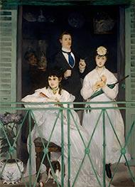 Manet | The Balcony | Giclée Canvas Print