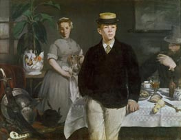 Manet | The Luncheon in the Studio, 1868 | Giclée Canvas Print