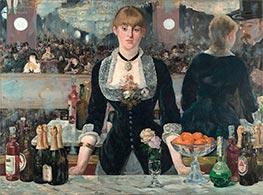 Manet | A Bar at the Folies-Bergere | Giclée Canvas Print