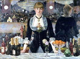 Manet   A Bar at the Folies-Bergere, c.1881/82   Giclée Canvas Print