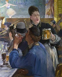 Manet | Corner in a Cafe - Concert | Giclée Canvas Print