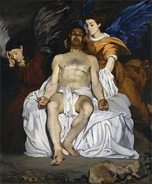 Manet | The Dead Christ and the Angels, 1864 | Giclée Canvas Print