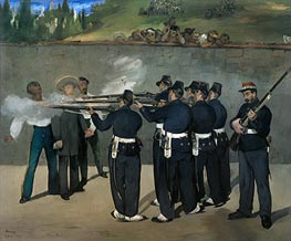 Manet | The Execution of the Emperor Maximilian, c1867/68 | Giclée Canvas Print