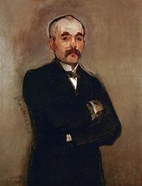 Manet | Portrait of Georges Clemenceau, 1879 | Giclée Canvas Print