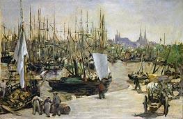 Manet | The Port of Bordeaux, 1871 | Giclée Canvas Print