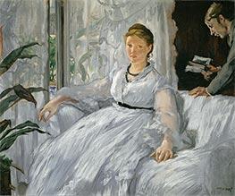Manet | Madame Manet (Reading), 1868 | Giclée Canvas Print