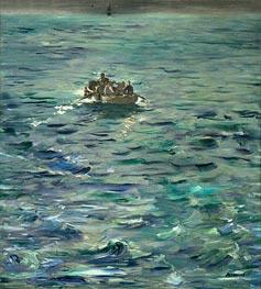 Manet | The Escape of Henri de Rochefort 20 March 1874, c.1880/81 | Giclée Canvas Print