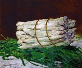 Manet | A Bunch of Asparagus, 1880 | Giclée Canvas Print