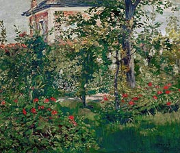 Manet | The Bellevue Garden, 1880 | Giclée Canvas Print