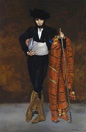 Manet | Young Man in the Costume of a Majo, 1863 | Giclée Canvas Print