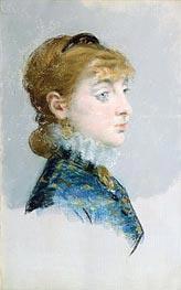 Manet | Mademoiselle Lucie Delabigne (Valtesse de la Bigne), 1879 | Giclée Canvas Print