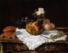 Manet | The Brioche, 1870 | Giclée Canvas Print