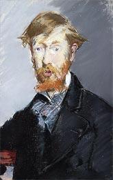 Manet | George Moore, c.1873/79 | Giclée Canvas Print