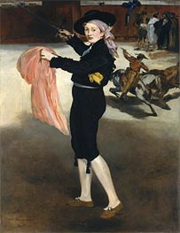 Manet | Mademoiselle V... in the Costume of an Espada, 1862 | Giclée Canvas Print