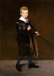Manet | Boy with a Sword, 1861 | Giclée Canvas Print