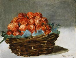 Manet | Strawberries, c.1882 | Giclée Canvas Print