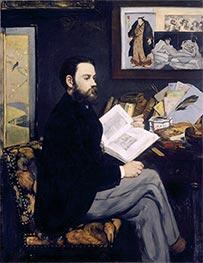 Manet | Emile Zola, c.1867/68 | Giclée Canvas Print