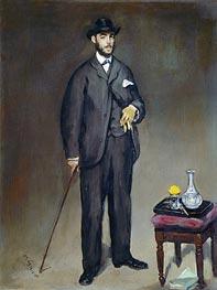 Manet | Theodore Duret, 1868 | Giclée Canvas Print