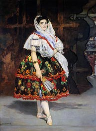 Manet | Lola de Valence, 1862 | Giclée Canvas Print