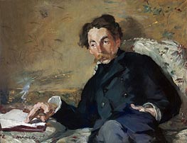 Manet | Stephane Mallarme, 1876 | Giclée Canvas Print