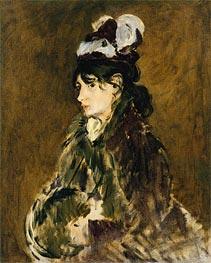 Manet | Berthe Morisot, c.1873 | Giclée Canvas Print