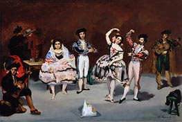 Manet | Spanish Ballet | Giclée Canvas Print