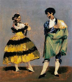 Manet | Spanish Dancers, 1879 | Giclée Canvas Print