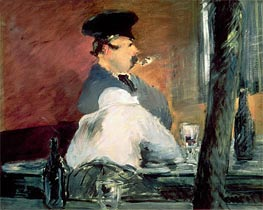 Manet | The Bar, c.1878/79 | Giclée Canvas Print