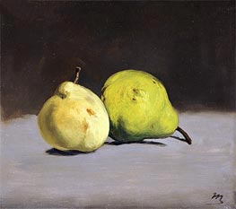Manet | Two Pears, 1864 | Giclée Canvas Print