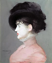 Manet | La Viennoise (Portrait of Irma Brunner), c.1880 | Giclée Canvas Print