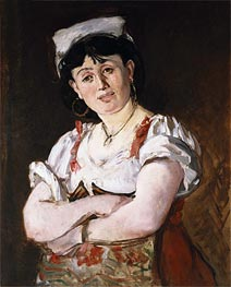 Manet | The Italian, 1860 | Giclée Canvas Print
