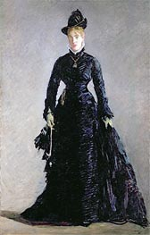 Manet | A Parisian Lady, undated | Giclée Canvas Print