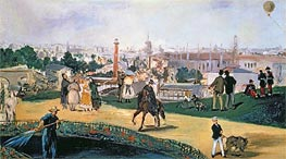 Manet | The Exposition Universelle, 1867 | Giclée Canvas Print