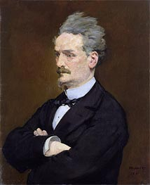 Manet | The Journalist Henri Rochefort, 1881 | Giclée Canvas Print