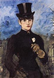 Manet | Horsewoman, Fullface, c.1882 | Giclée Canvas Print