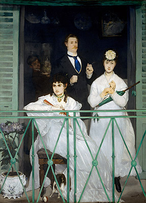 The Balcony, c.1868/69 | Manet | Painting Reproduction