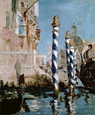 The Grand Canal, Venice, 1874 | Manet | Painting Reproduction