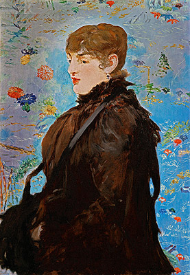 Autumn (Mery Laurent), 1882 | Manet | Painting Reproduction