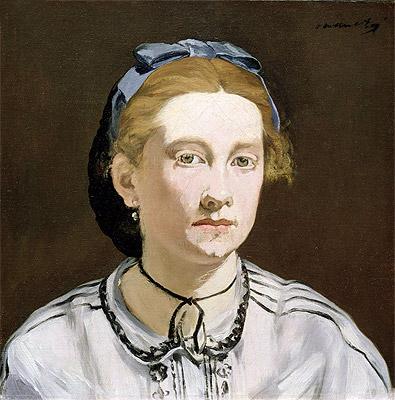 Victorine Meurent, c.1862 | Manet | Painting Reproduction