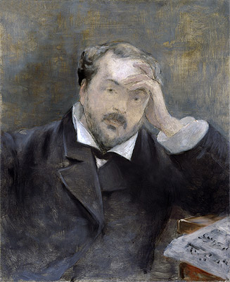 Emmanuel Chabrier, 1881 | Manet | Painting Reproduction