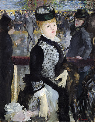 Skating, 1877 | Manet | Painting Reproduction