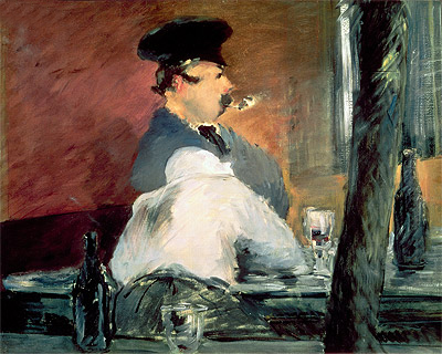 The Bar, c.1878/79 | Manet | Painting Reproduction