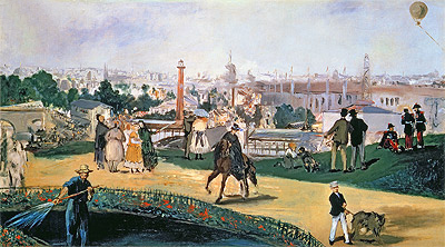 The Exposition Universelle, 1867 | Manet | Painting Reproduction