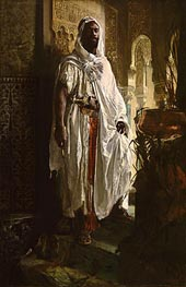 Eduard Charlemont | The Moorish Chief, 1878 by | Giclée Canvas Print